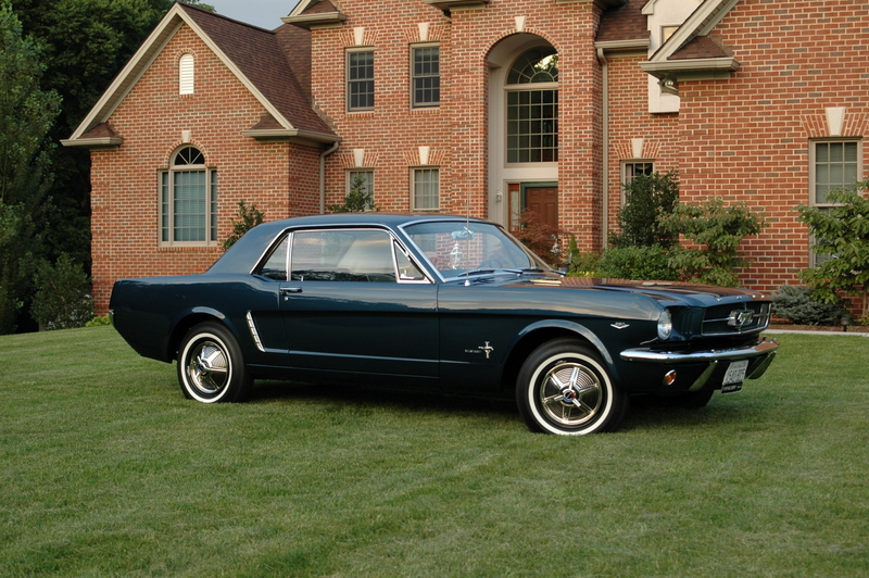 1964 1 2 ford mustang coupe restoration. Black Bedroom Furniture Sets. Home Design Ideas