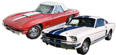 Corvette and Mustang - Restored by Maple Hill Restoration