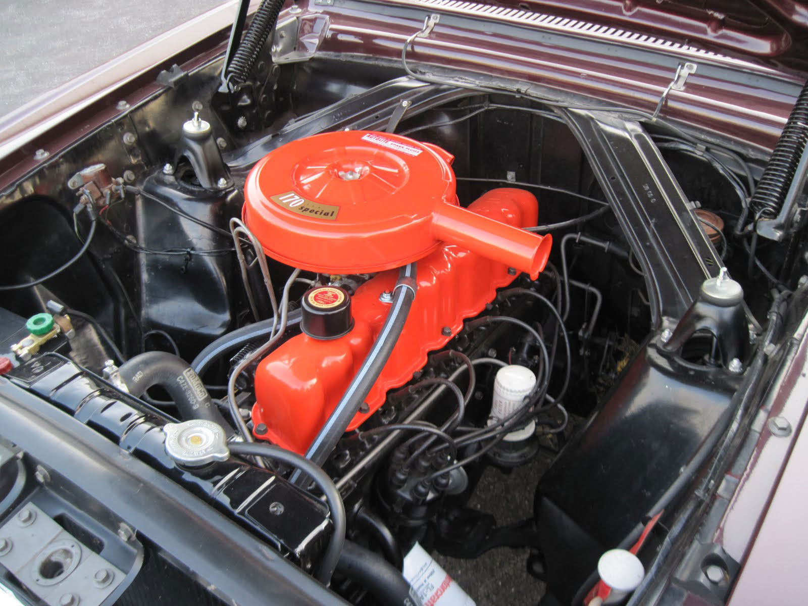 D C D Bd Low Res besides Ford Falcon Futura as well Maple Hill Restoration as well Ford Mustang Engine Bay in addition . on 63 ford falcon convertible