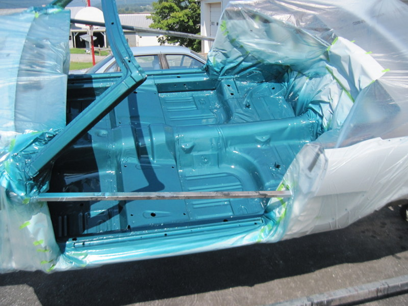 1965 Ford Mustang Paint Maple Hill Restoration