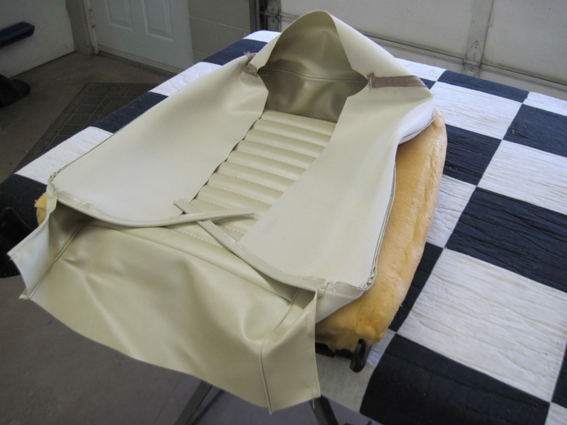 1965 Ford Mustang Convertible-Seat upholstery | Maple Hill ...