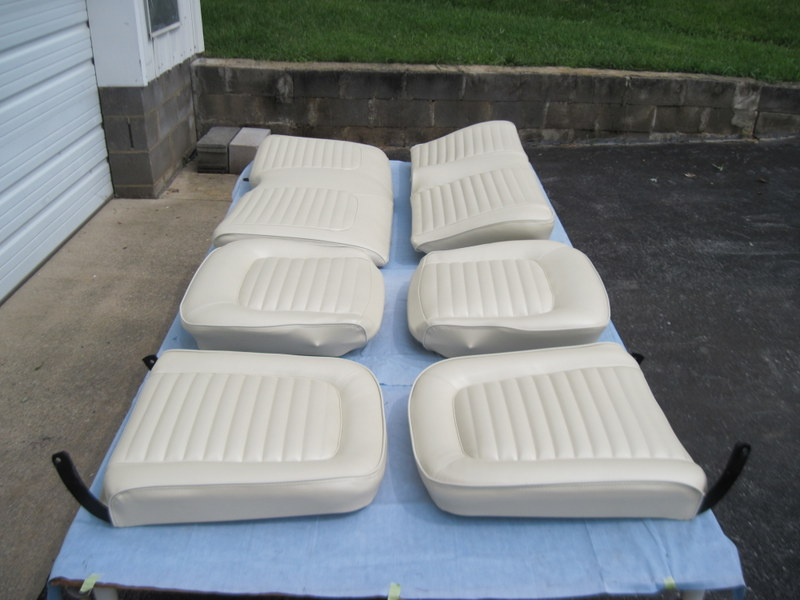 1965 Ford Mustang Convertible Seat Upholstery Maple Hill Restoration