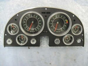 The gauge cluster was sent out and restored by CGR Restoration in South Carolina
