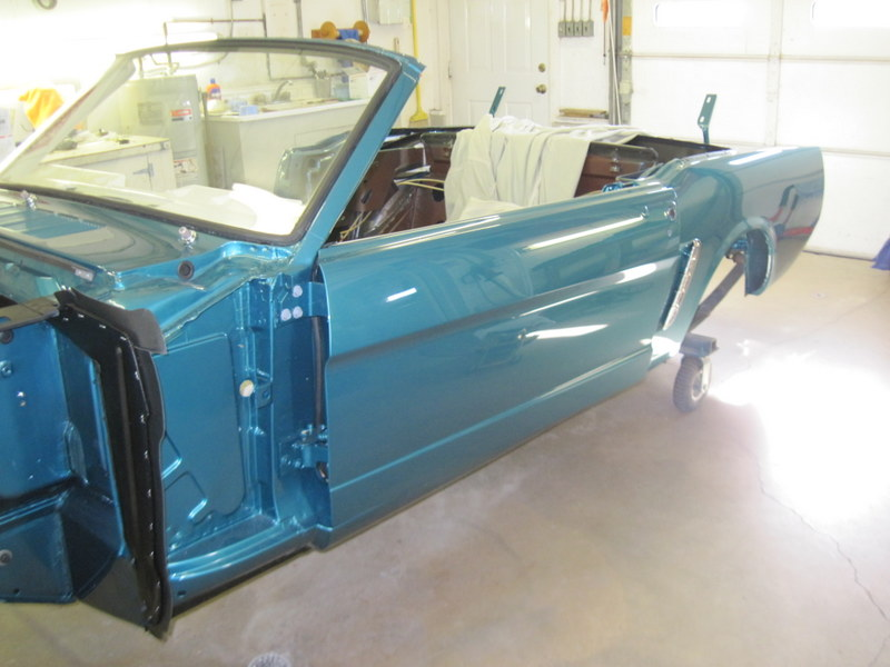 1965 Windshield Reinstallation Maple Hill Restoration