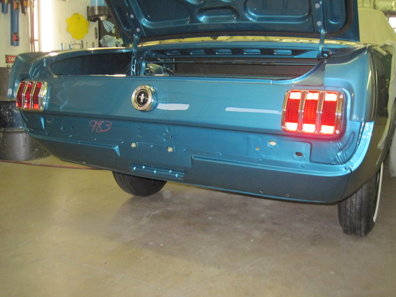 Mustang Assembly Rear End