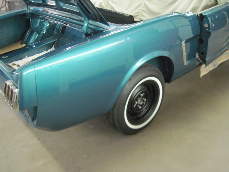 1965 Mustang Rear End Assembly Maple Hill Restoration