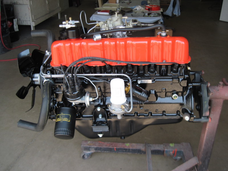 1965 Ford Mustang Completed Engine Maple Hill Restoration