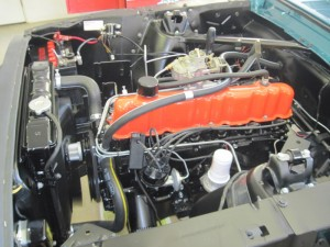 65 mustang engine running 003