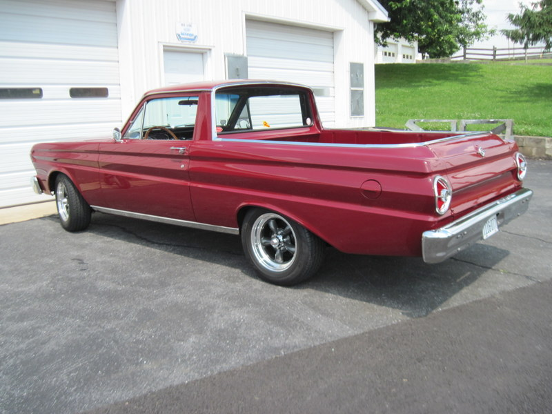 1965 Ford Ranchero Maple Hill Restoration