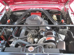 65 mustang engine running 012