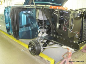 65 mustang assembly 017