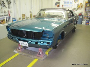 65 mustang assembly 040