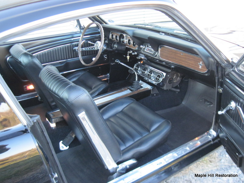 Sold 1966 Ford Mustang Fastback  Maple Hill Restoration