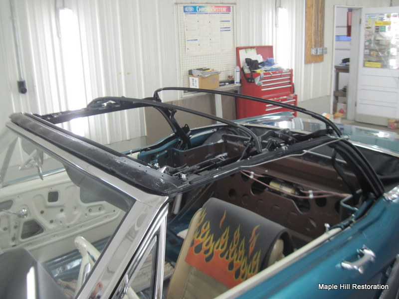 1965 Ford Mustang Convertible Top Maple Hill Restoration