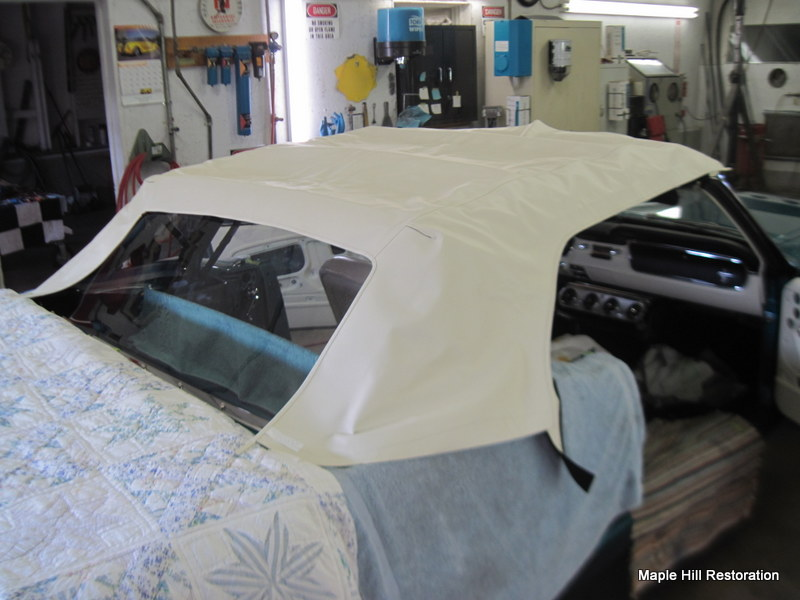 1965 ford mustang convertible top maple hill restoration for 1965 mustang window adjustment