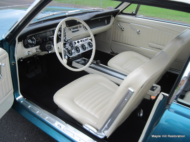 Mustang Club Of America >> 1965 Twilight Turquoise Ford Mustang Completed | Maple Hill Restoration