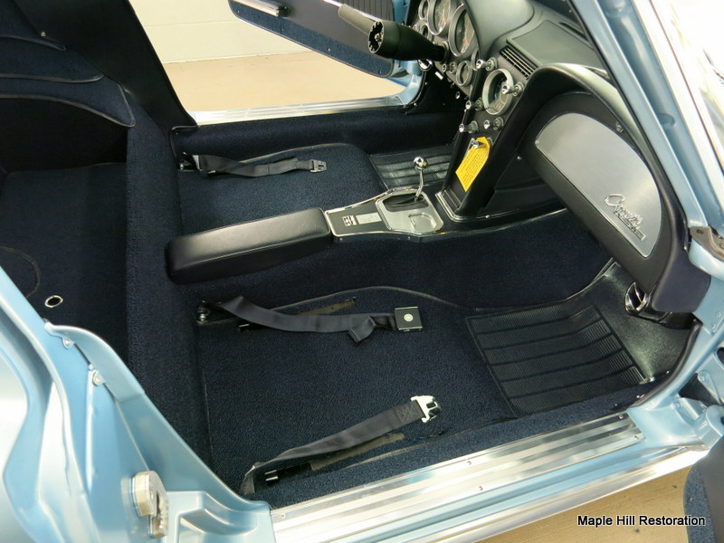 1964 Chevrolet Corvette Final Interior Installation