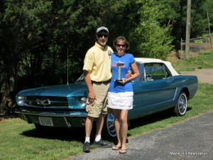 Me and my girl taking home 1st place at the Myers Ford show in Elkton, VA