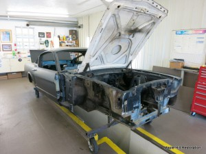 Finishing the dissasembly of the 1966 Shelby GT350