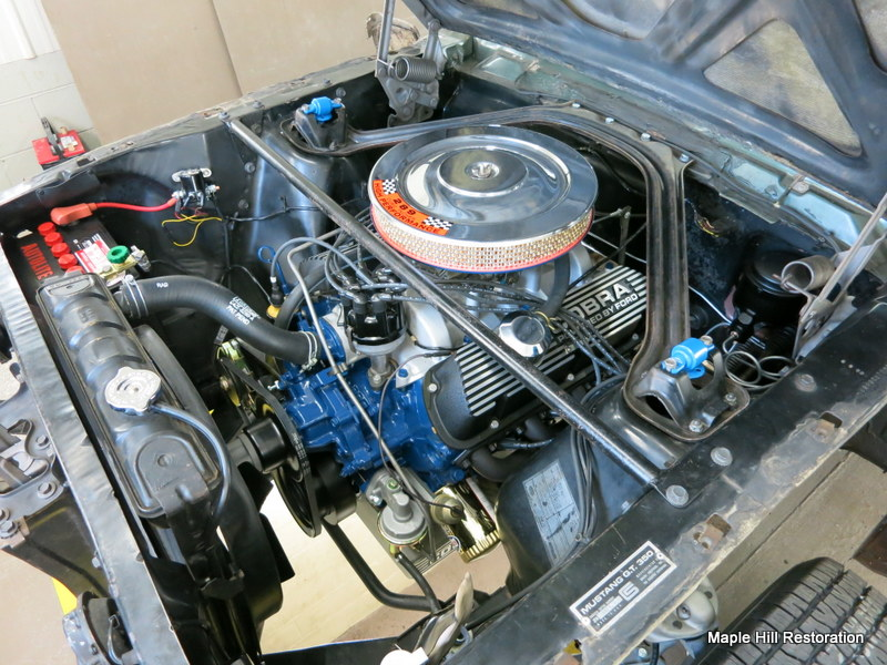 1966 Shelby Gt350 Reassembly Maple Hill Restoration