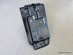 Refinished NOS battery tray