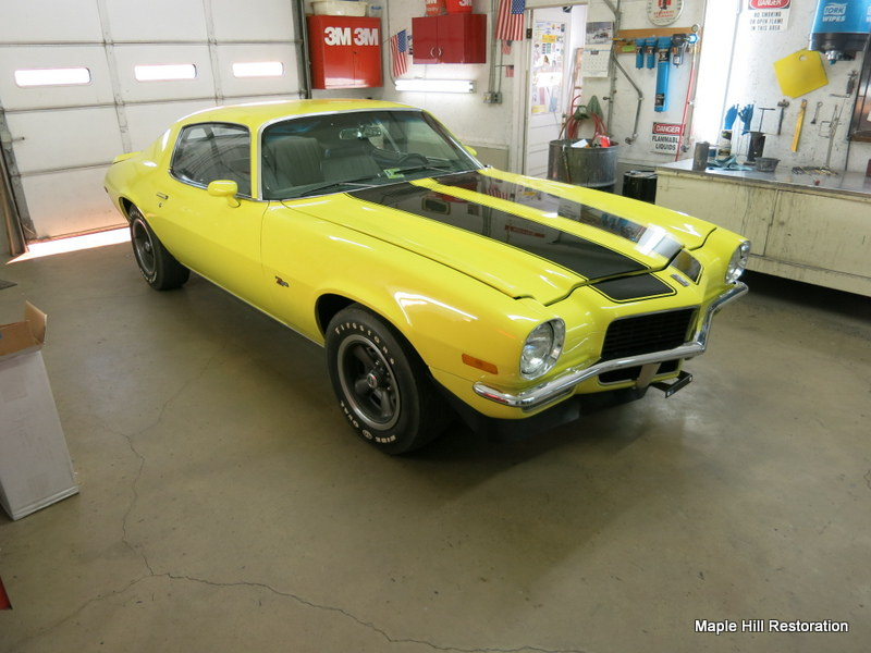 1970 Chevrolet Camaro Z28 Maple Hill Restoration